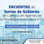Cartel Encuentro Juntas de Gobierno COAPIS