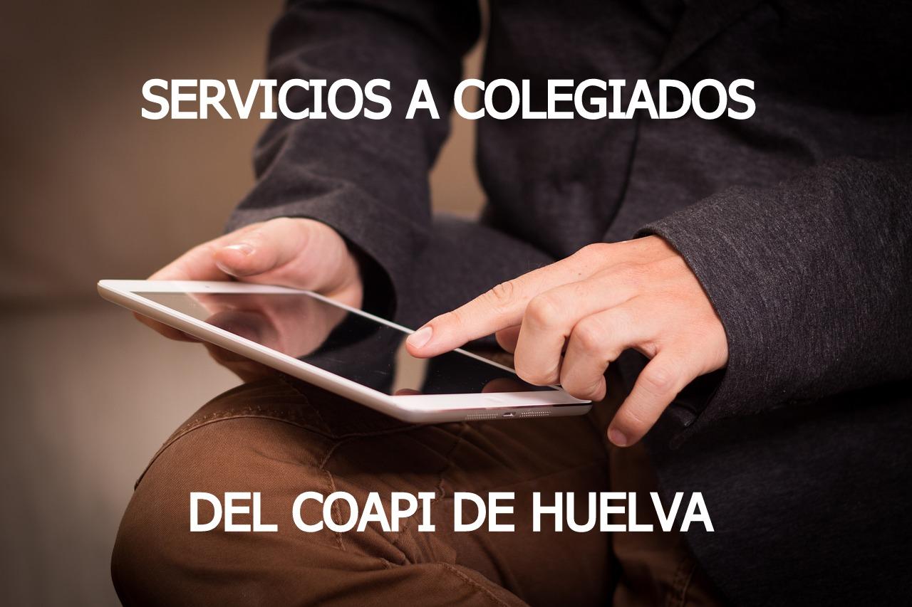 servicios a colegiados COAPI HUELVA
