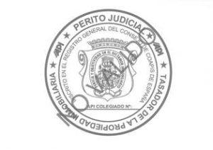 SELLO PERITO JUDICIAL INMOBILIARIO PARA TASACIONES