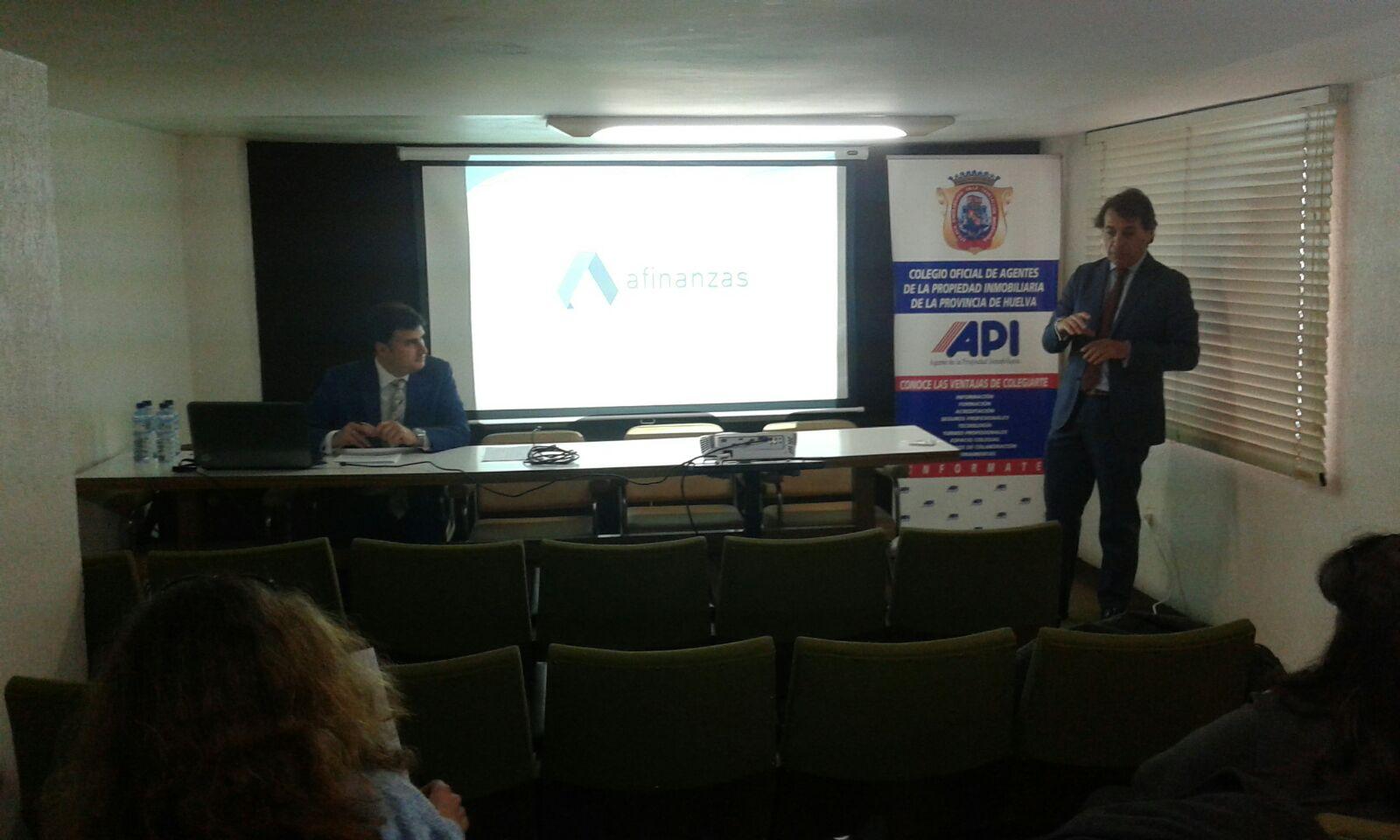 PRESENTACION DE LA JORNADA NUEVA LEY HIPOTECARIA COAPI DE HUELVA