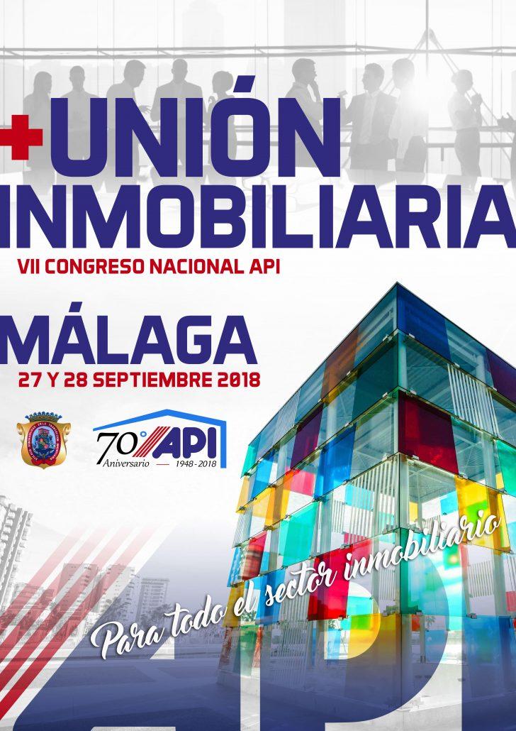 Cartel-Unión-Inmobiliaria-2018-MALAGA