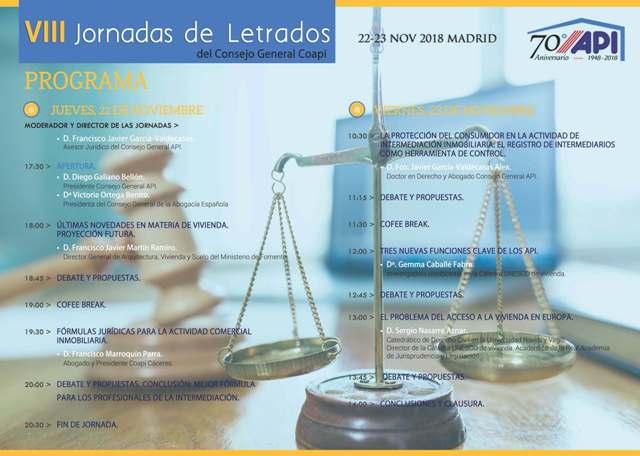 Programa VIII Jornadas Letrados_2018