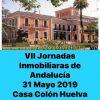 HUELVA ELEGIDA SEDE DE LAS VII JORNADAS INMOBILIARIAS DE ANDALUCIA ORGANIZADAS POR EL CONSEJO ANDALUZ DE COAPIS