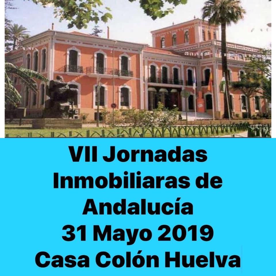 CARTEL VII JORNADAS INMOBILIARIAS DE ANDALUCIA