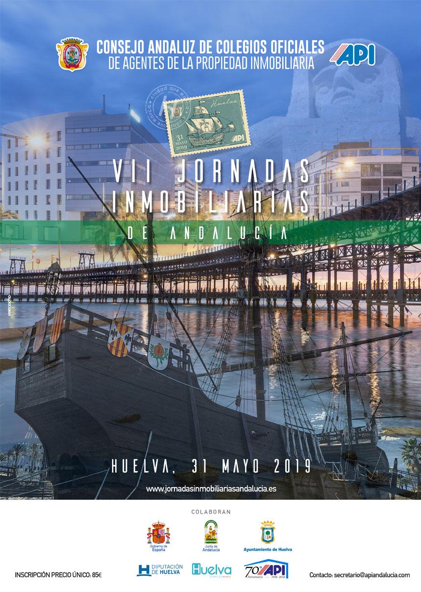 cartel VII jornadas inmobiliaria Andalucia